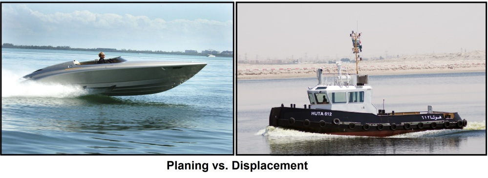Planing Vs Displacement
